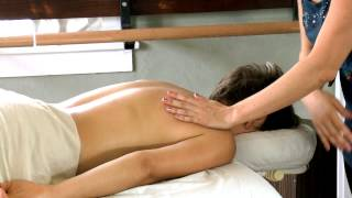 How To Give a Back Massage, Jen Hilman Relaxing Swedish Techniques   Austin Massage Therapist
