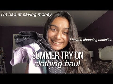 Summer Try On Clothing Haul (brandy Melville, Hollister, American Eagle)