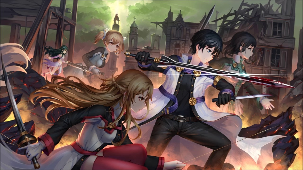 Sword Art Online The Movie Ordinal Scale Epic Battle OST
