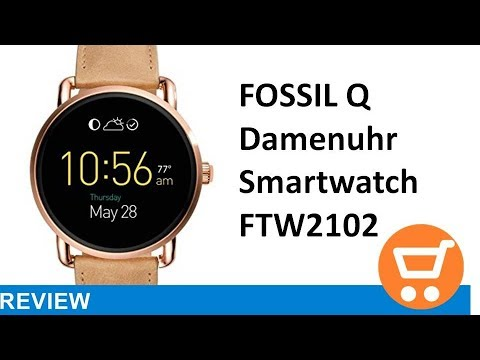 fossil-q-damen-smartwatch-ftw2102---review-|-deutsch-/-german