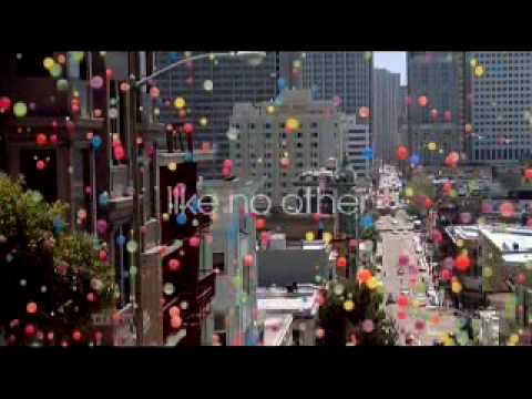 """Sony Bravia LCD TV Advert (Bouncy Balls) & """"The Making of"""""""