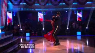 DWTS - Chris Jericho & Cheryl Burke - Viennese Waltz
