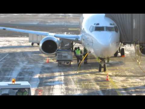 Air Baltic cargo handling in RIX