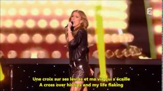 Celine Dion Dans un autre monde French / English Lyrics Subtitles