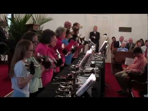 Speak O Lord on Handbells (clip)
