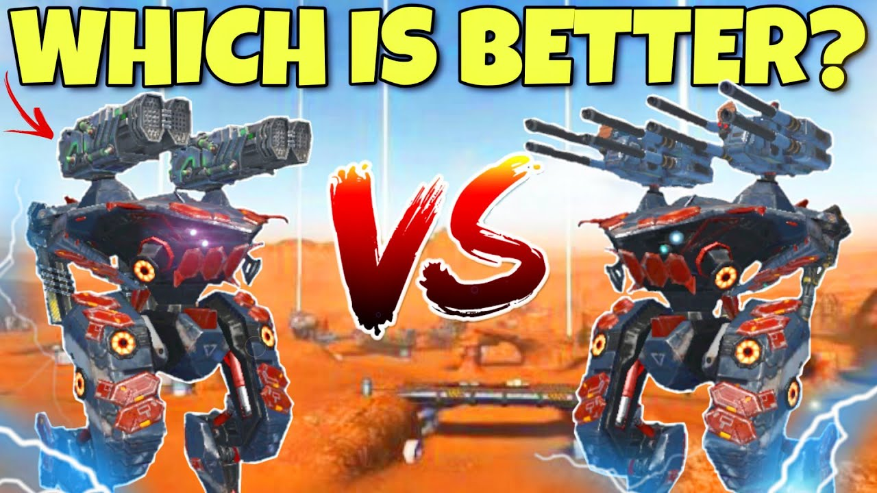 🔥 GROM VS VENGEANCE COMPARISON WHICH IS BETTER? || WAR ROBOTS ||