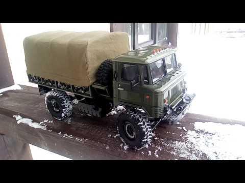 WPL на прокачку. Часть 2. ГАЗ 66. Тюнинг за копейки.