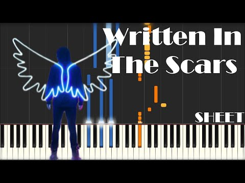 Written In The Scars Guitar Chords The Script Khmer Chords