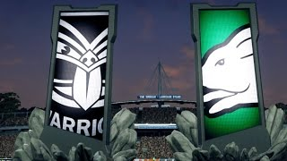 Rugby League Live 3 Online Gameplay - Warriors vs Rabbitohs -  (PS4/XB1)