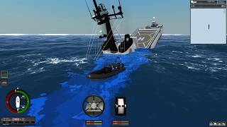 Sinking An Coast Guard Ship With Icebergs | Ship Simulator Extremes Sinking Ships