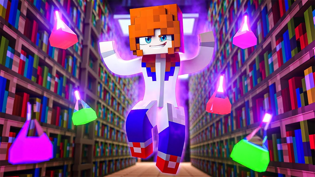 The New Girl is EVIL !? - Minecraft Academy