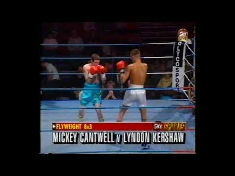 Mickey Cantwell vs Lyndon Kershaw