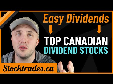 BEST Canadian Dividend Stocks - Top Dividend Stocks For Passive Income