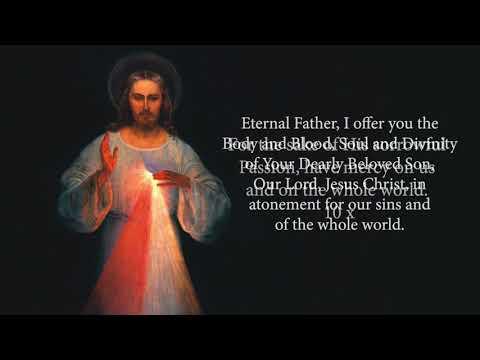 Divine Mercy Novena Day 1