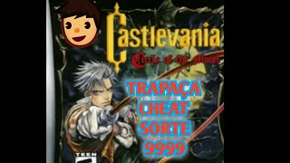 Android Castlevania Cicle of the Moon GBA TRAPAÇA