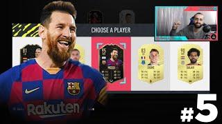 FIFA 20 FUT DRAFT #5 TOTW MESSI 95