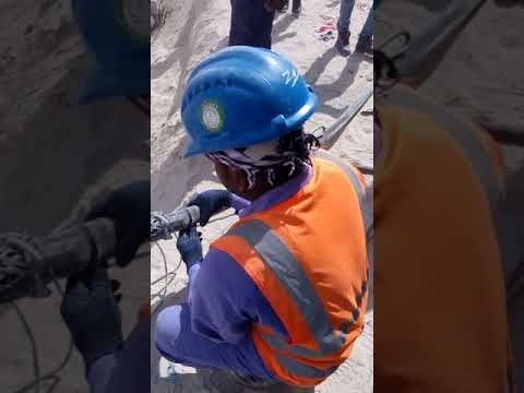 Actual cable socks or net in cable pulling in Doha Qatar 1