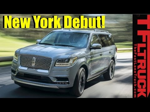 Live from New York! 2018 Lincoln Navigator Debut Event