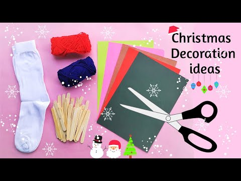 DIY : 3 Easy Christmas Home Decoration Ideas | Simple & Easy Crafts for Christmas 2019