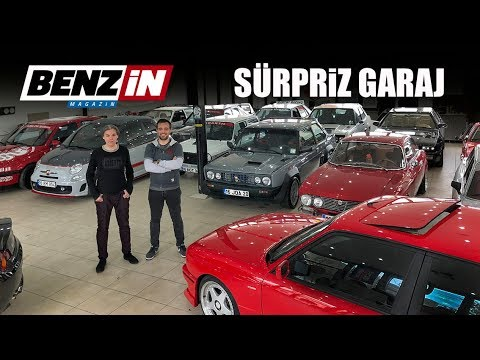 Sürpriz Garaj Ziyareti | Fiat 131 Abarth, Lancia Delta HF Integrale, Mercedes 190E 2.5-16