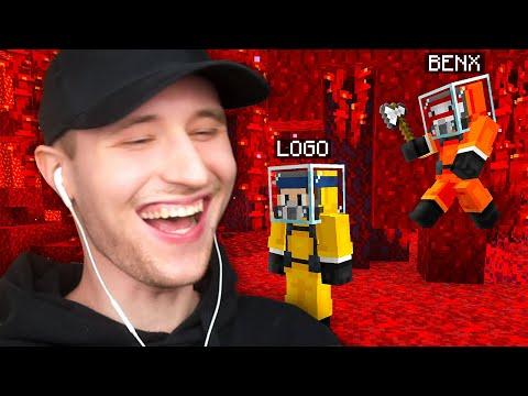 Minecraft durchspielen aber du kannst ersticken!