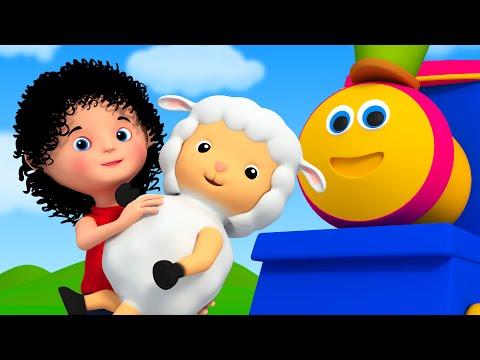 Bob The Train  mary had a little lamb  nursery rhyme song  childrens song  Bob Cartoons Kids Tv