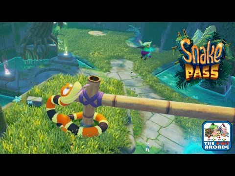 Snake Pass - Fumbling Falls: Sog-Gee's Realm Completed (Xbox One Gameplay)