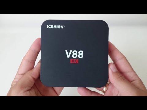 Takıldığı Her TV'yi Akıllandıran Uygun Fiyatlı TV Kutusu: Scishion V88 Android TV Box