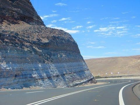 Ruta 5 Chile - Video filmagem de Arica até San Pedro de Atacama - trajeto completo