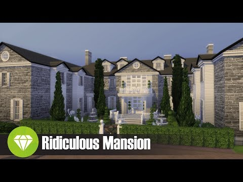 RIDICULOUS MANSION l Sims 4 House Build