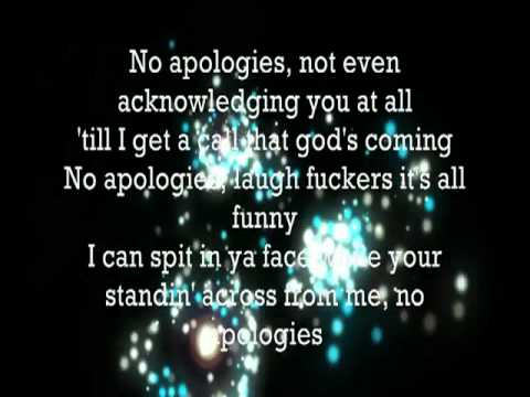 Eminem  No Apologies Lyrics