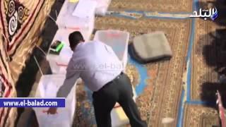 بالفيديو..بدء عمليات فرز الأصوات في انتخابات الممثلين