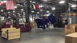 Nabholz Industrial Stands Up 36,000 lb Press