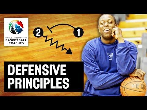 Defensive principles - Ed Pinckney - Basketball Fundamentals