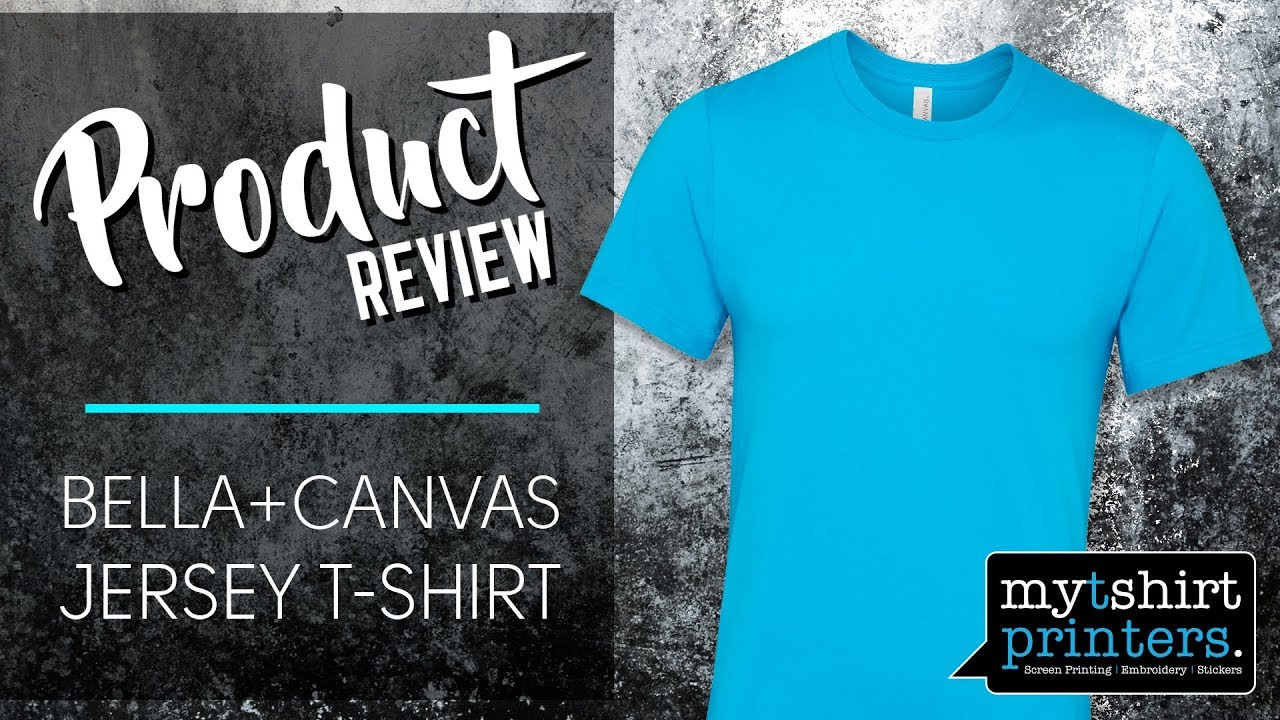 17365ec4 Fashion T Shirt for Brands - Bella Canvas T Shirt Review - YouTube