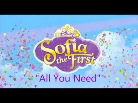 """All you need"" Sofia the 1st-Lyrics"