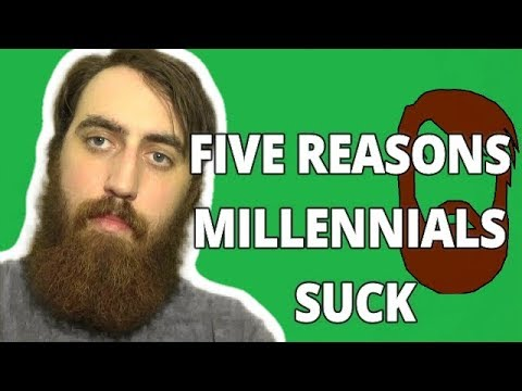 Why millennials suck