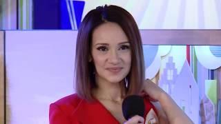 С добрым утром, малыши! - Певица Валентина Бирюкова в гостях у Хрюши - Песенки про Новый Год