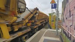 Züge Gefilmt heute Bauzug aber Loks verpasst 😖