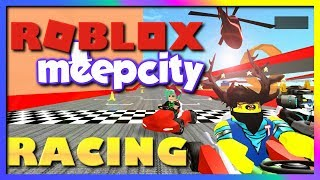 TAKE A MEEP TO THE FACE💥ROBLOX NEW MEEPCITY RACING BETA💥SallyGreenGamer Geegee92 Family Friendly