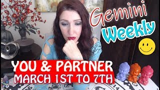 "GEMINI SOULMATE TAROT ""MESSAGES OF LOVE!!!"" MARCH 1-7 WEEKLY TAROT READING"