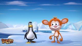 MACACO VÊ, MACACO FAZ   Pinguim dança   Monkey See Monkey Do