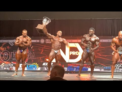 Justin Rodriguez Wins the 2021 IFBB Indy Pro | Ron Harris Reports from the Indiana Pro 2021
