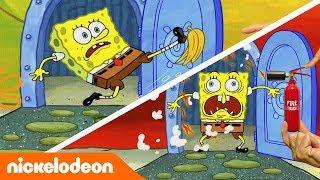 SpongeBob | Nickelodeon Arabia | سبونج بوب | خروج سبونج بوب
