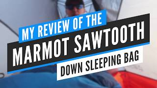 Marmot Sawtooth Sleeping Bąg Review