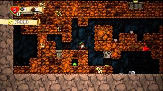 Spelunky - Gameplay Walkthrough / Let's Play - Part 1 [HD] (X360)