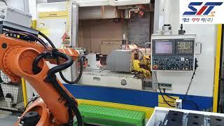 공작기계 연동 자동화 시스템(선반, MCT, 복합기)