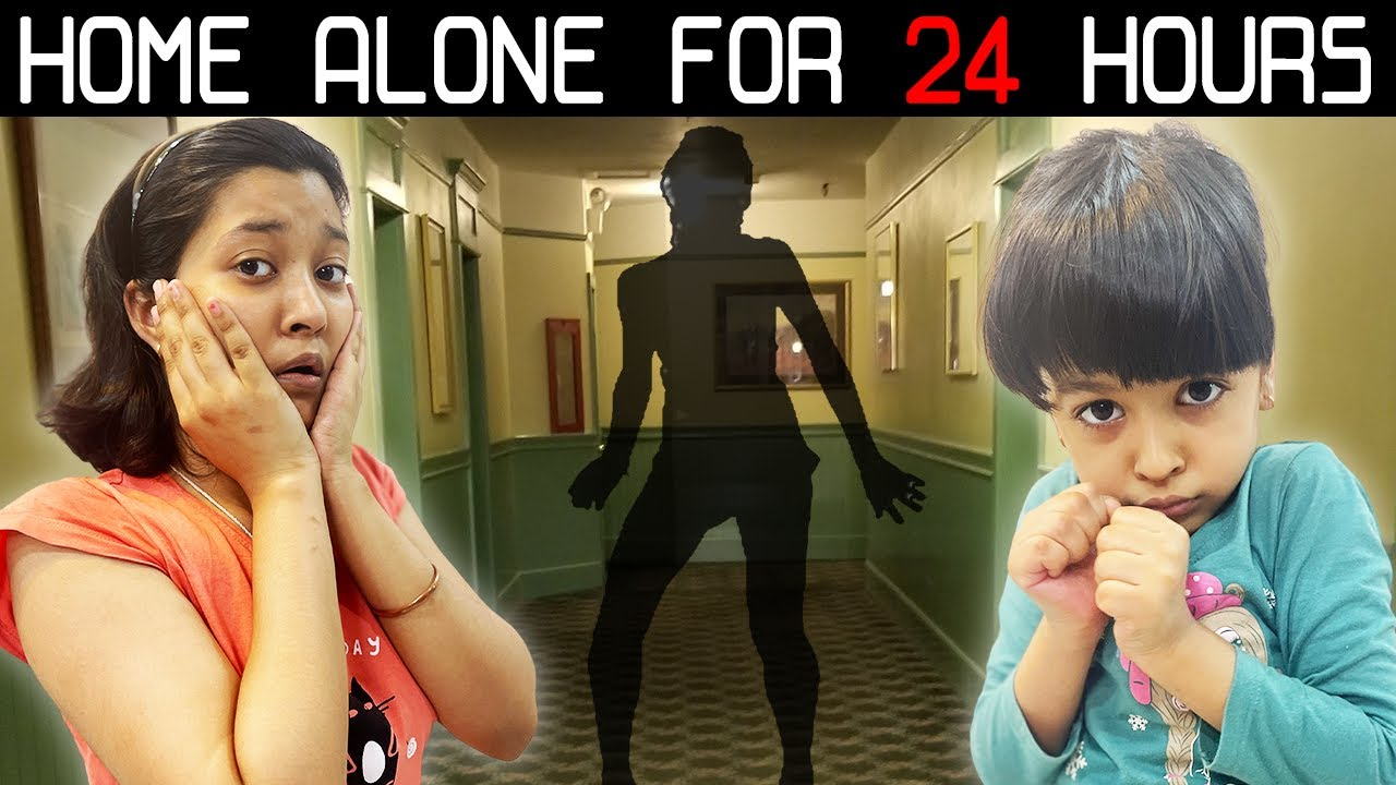 Home Alone For 24 Hours | Cute Sisters