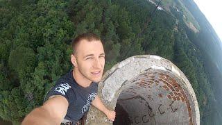 Lintich - komín Štiavnickej Striebornej huty (urban climbing)