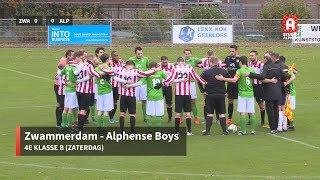 Samenvatting Zwammerdam - Alphense Boys (zaterdag 23 november)